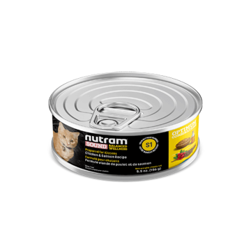 Picture of S1-Nutram Kitten Wet Food 156g