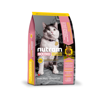 Picture of S5 Nutram Sound balanced well cat 1,8 kg
