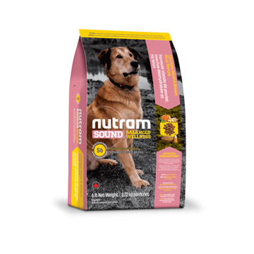 Picture of S6 Nutram Dog Adult Chicken & Rice 2,72kg
