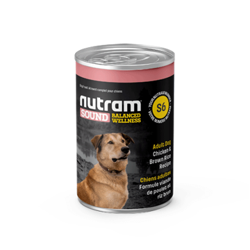 Picture of S6-Nutram Dog Adult Wet Food 369g