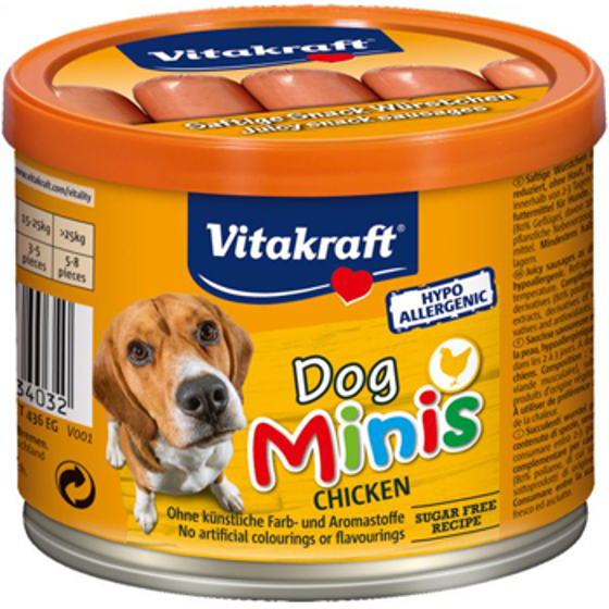 Picture of Dog Minis Chicken 120g