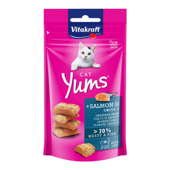 Picture of Cat Yums - Salmon 40g