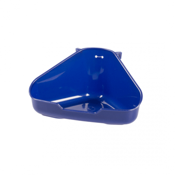 Picture of Corner Toilet For Rodents - Blue