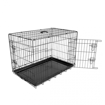 Picture of Dog crate 2doors 107x71x77 cm