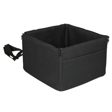 Picture of Dog Car Basket - Black
