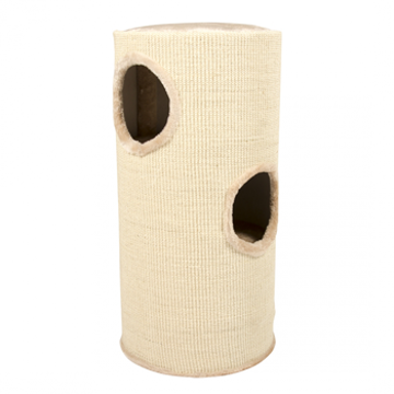 Picture of Scratching post tower Beige 36x36x70cm