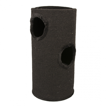 Picture of SCRATCHING POST TOWER Ø37x70CM black