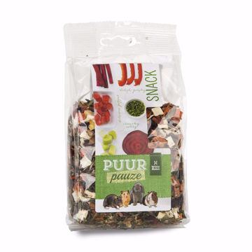 Picture of PUUR PAUZE VEGETABLE & HERB SNACK 100GR