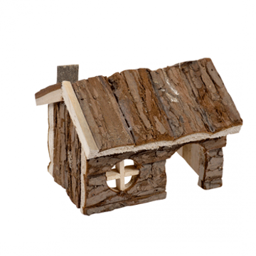 Picture of Small Wooden Lodge Bark
