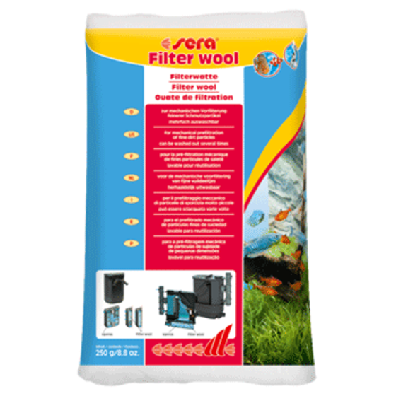 Picture of sera filter wool 250gr