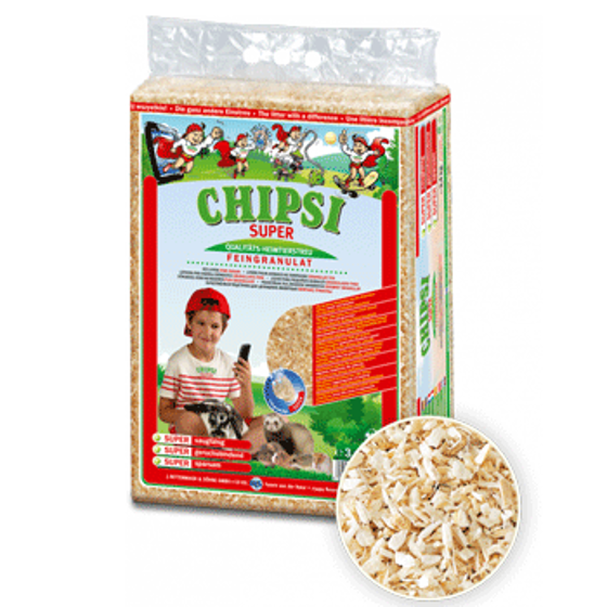 """Picture of Chipsi """"Strawberry"""" Shavings 60L"""