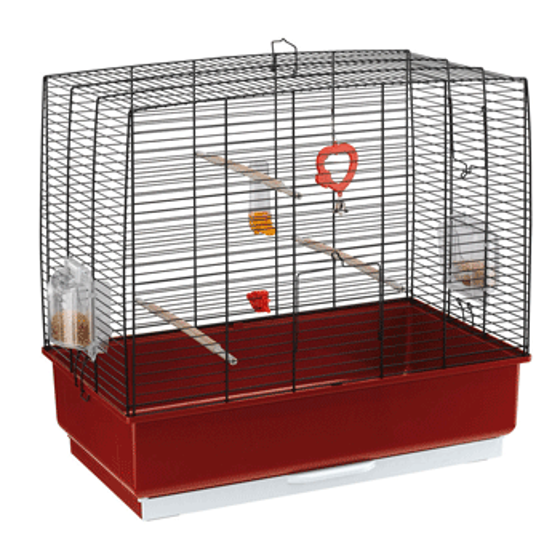 Picture of Cage Rekord 4 Black Bird Cage