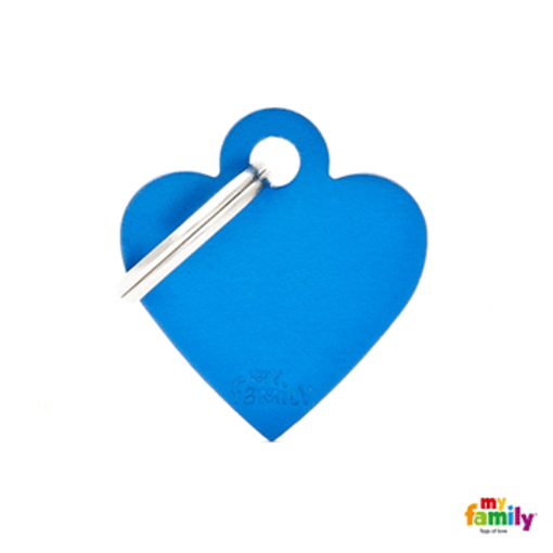 Picture of Small Heart Aluminum Blue