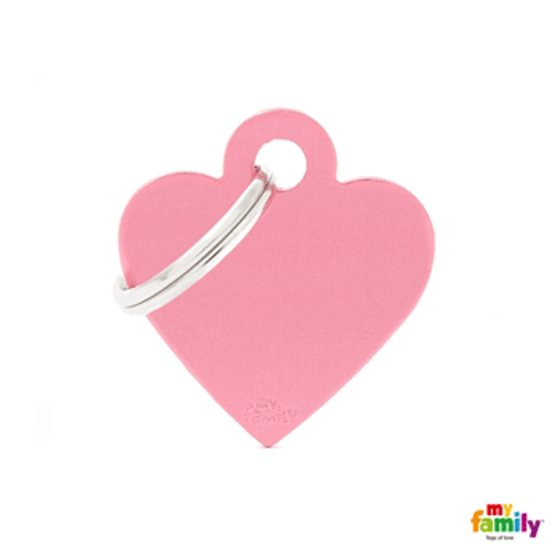 Picture of Small Heart Aluminum Pink