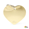 Picture of Big Heart Golden Brass