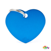 Picture of Big Heart Aluminum Blue