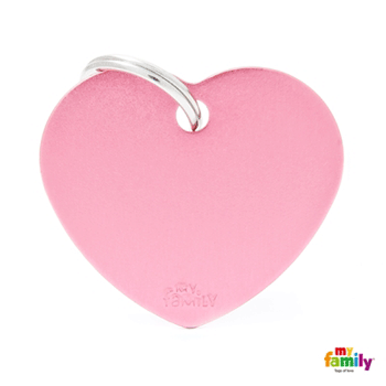 Picture of Big Heart Aluminum Pink