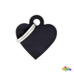Picture of Small Heart Aluminum Black