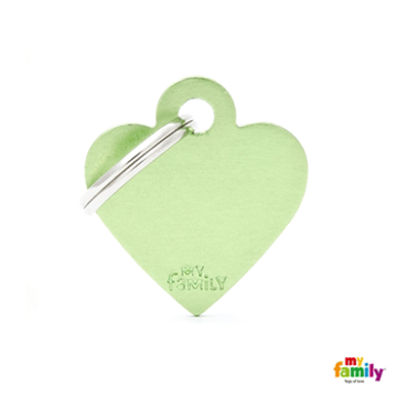 Picture of Small Heart Aluminum Green