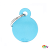 Picture of Small Round Aluminum Light Blue