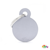 Picture of Small Round Aluminum Grey
