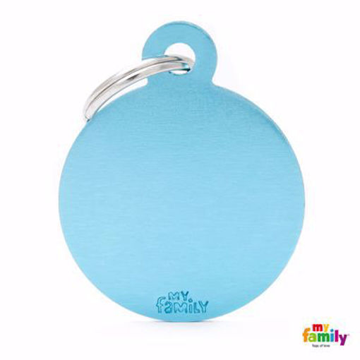 Picture of Big Round Aluminum Light Blue