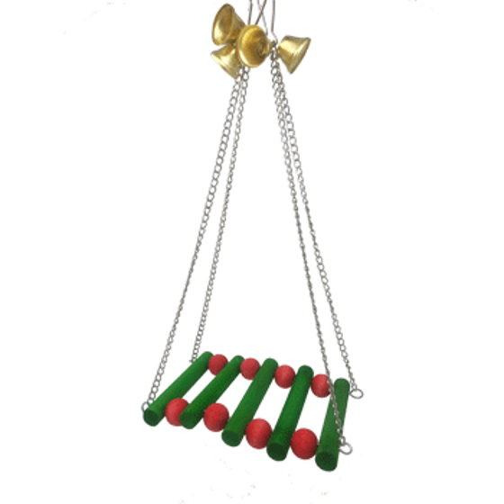 Picture of Christmas Bridge With Bells