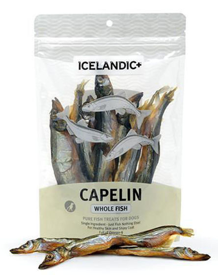 Picture of Icelandic+ Capelin Whole Fish Dog Treat 2.5-oz Bag