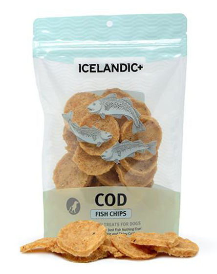 Picture of Icelandic+ Cod Fish Chips Dog Treat 2.5-oz Bag