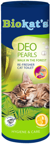 Picture of Biokat's Deo Pearls Walk In Forest 700gr