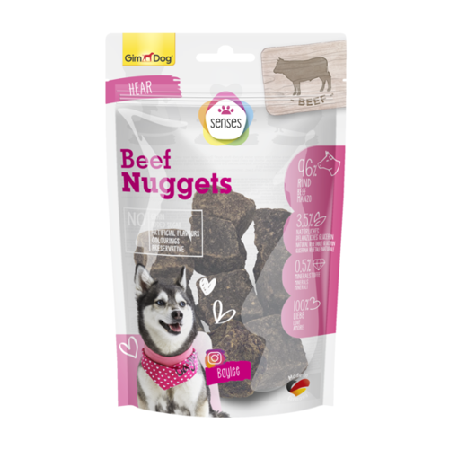 Picture of GD Senses Pure Beef Nuggets 100gr