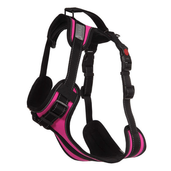 Picture of Solid Padded Harness Hot Pink Koko M