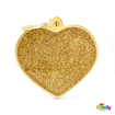 Picture of BIG HEART GLITTER GOLD