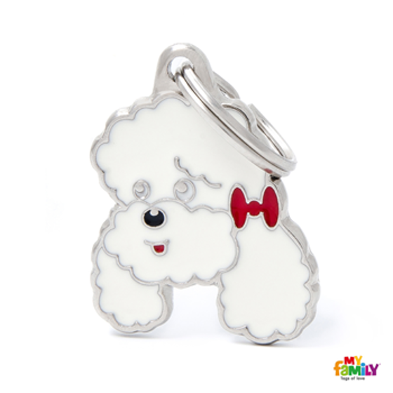 Picture of WHITE POODLE