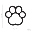 Picture of WHITE PAW STRASS