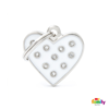 Picture of WHITE HEART STRASS