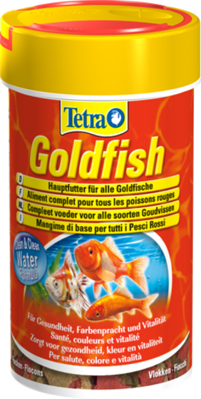 Picture of Tetra Goldfish Flakes 100ml