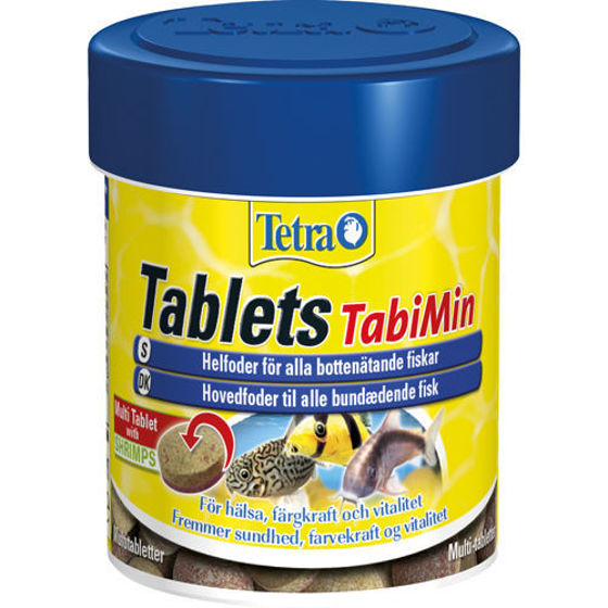 Picture of Tetra Tabimin 120 tabs.