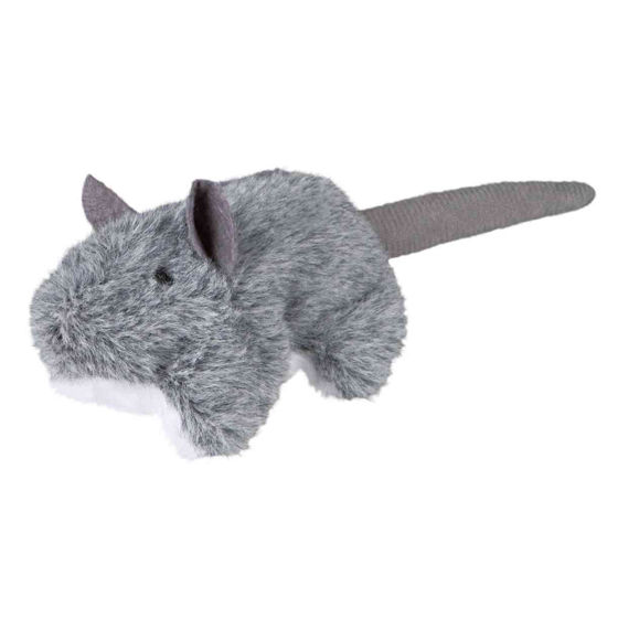 Picture of Mouse with refillable catnip plush 8 cm