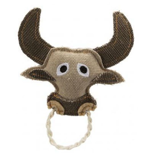 Picture of Bull with rope ring 16cm