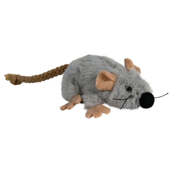 Picture of Toy mouse, plush, 7 cm