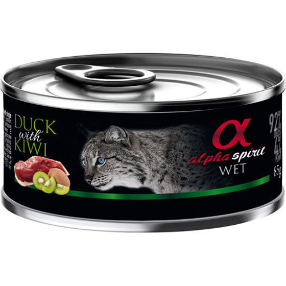 Picture of  Alpha Spirit Cat Duck + Kiwi 85g