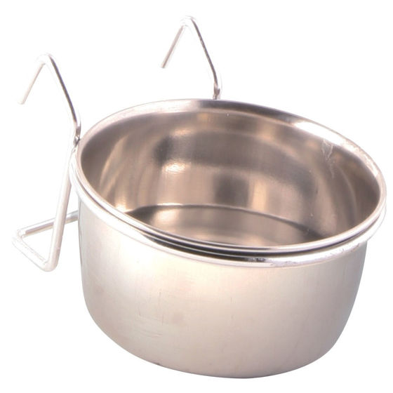 Picture of Stainless steel bowl with holder 150ml/7cm