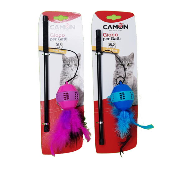 Picture of Fishing rod for cats 26cm