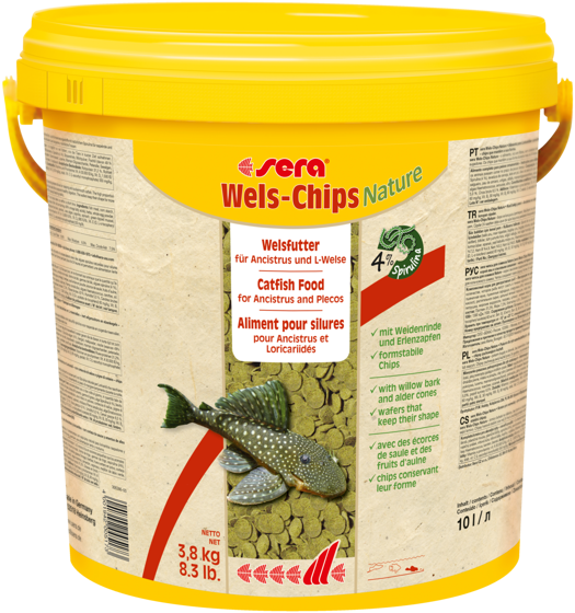 Picture of sera Catfish Chips Nature 3,8KG
