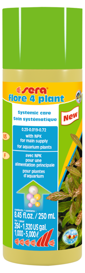 Picture of Sera Flore 4 plant 250ml