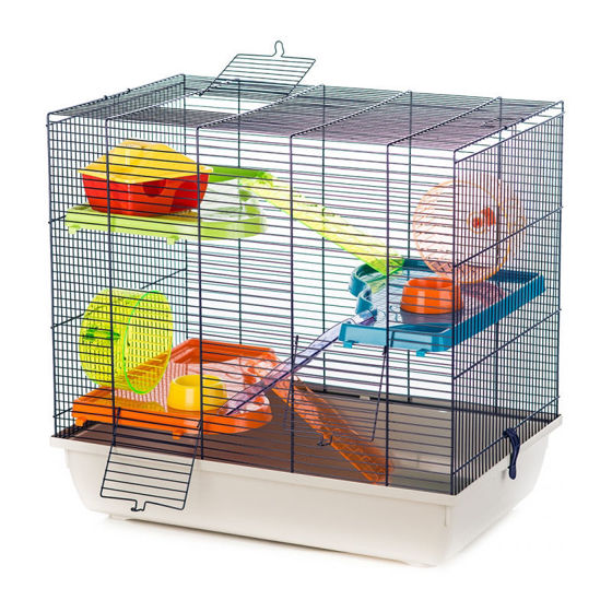 Picture of Cage teddy 2 gigant Grey/blue