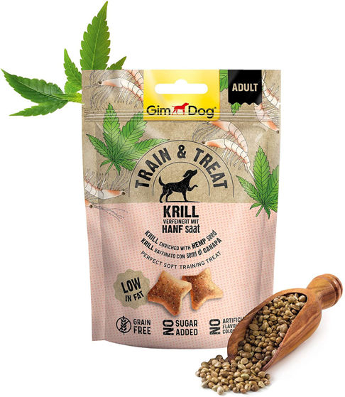 Picture of GimDog Train & Treat Krill and Hemp
