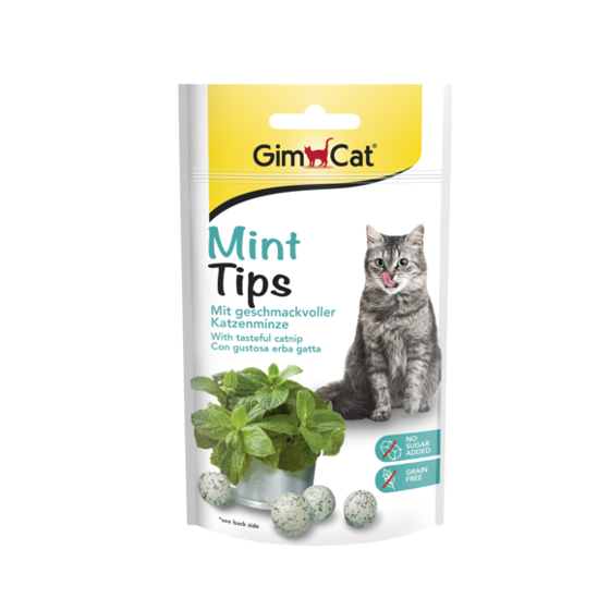 Picture of  GimCat MintTips 40 g
