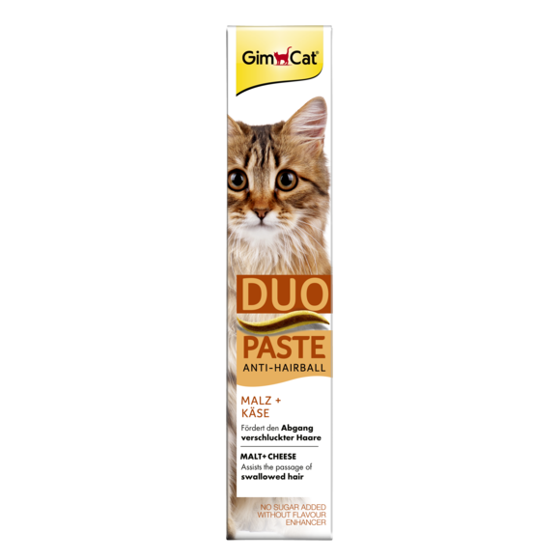 Picture of Anti Hairball duo-paste w/ Cheese+Malt 50g